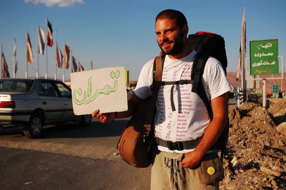 01 hitchhiking in Iran