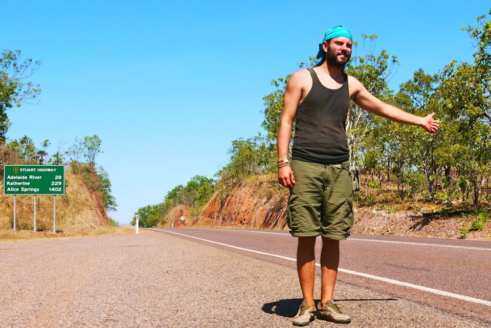 05 hitchhiking in Australia