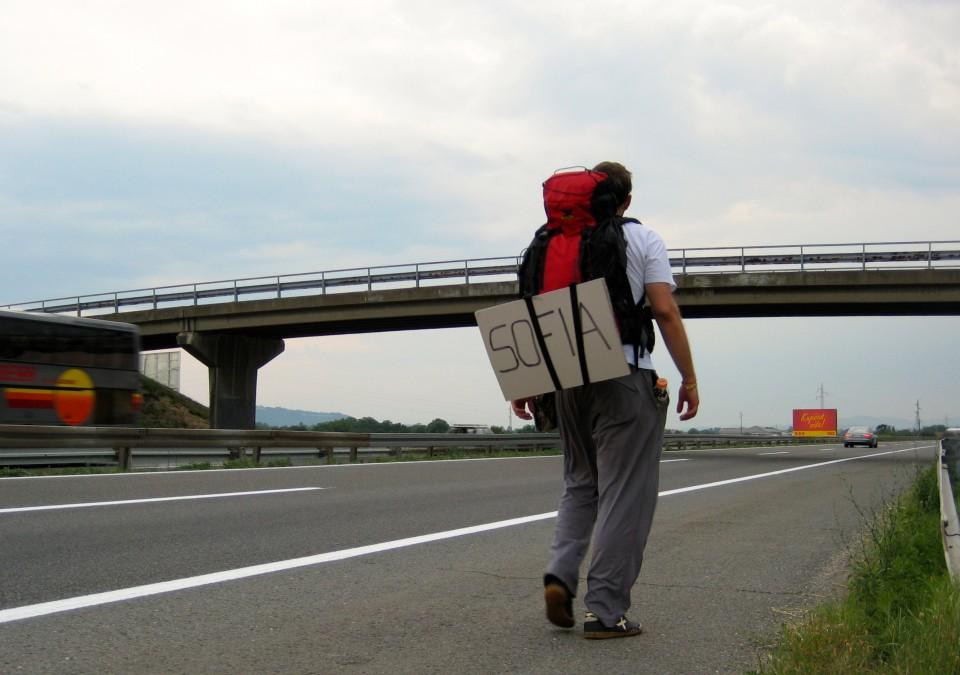 09 walking on highway