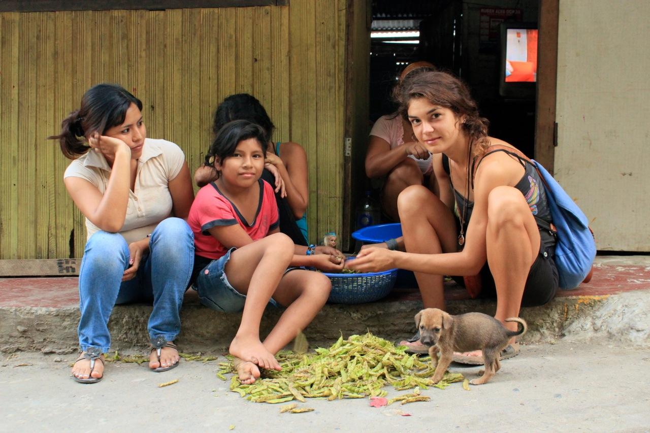 peruanische Babes