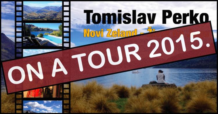 ON A TOUR, 2015.