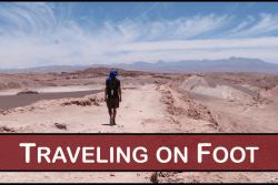 TRAVELING ON FOOT